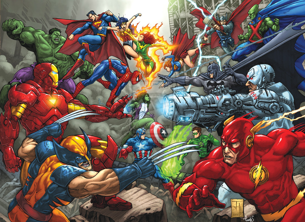 marvel vs dc Marvel versus dc gallery official name marvel versus dc aliases marvel vs dc, dc vs marvel universe earth-616 event details locations new york contents[show] event synopsis see also: marvel versus dc vol 1 for the comic issues the amalgam universe is a parallel universe created and destroyed as.