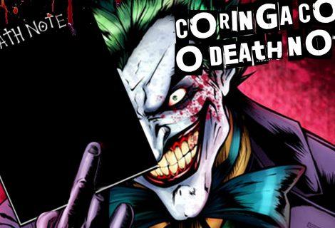 E se o Death Note caísse nas mãos do Coringa