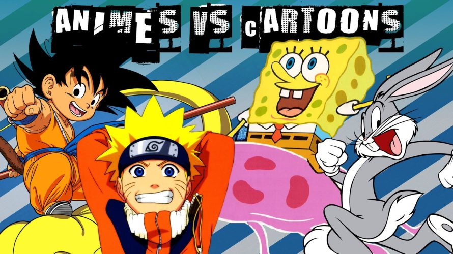 Animes vs Desenhos animados: Quais as diferenças?
