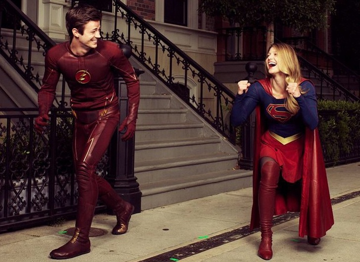 Resultado de imagem para supergirl flash