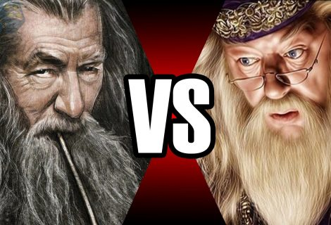 Gandalf vs Dumbledore | Batalha Mortal