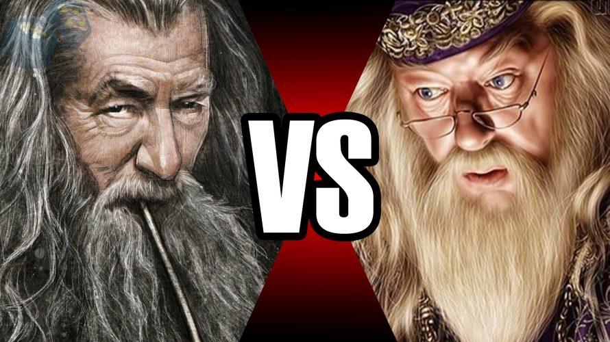Gandalf vs Dumbledore | Batalha Mortal