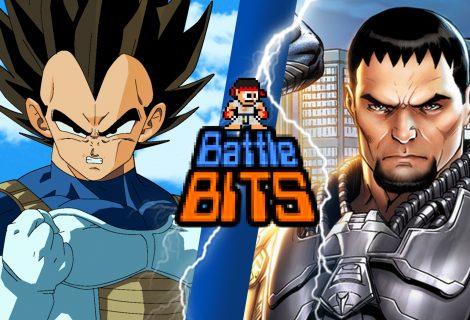 Vegeta vs General zod | Battle Bits