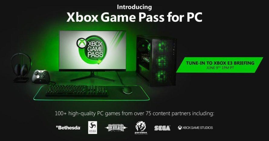 Microsoft lançará Game Pass, sua Netflix dos games, para PCs