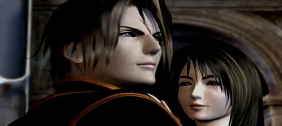 Squall e Rinoa Final Fantasy VIII