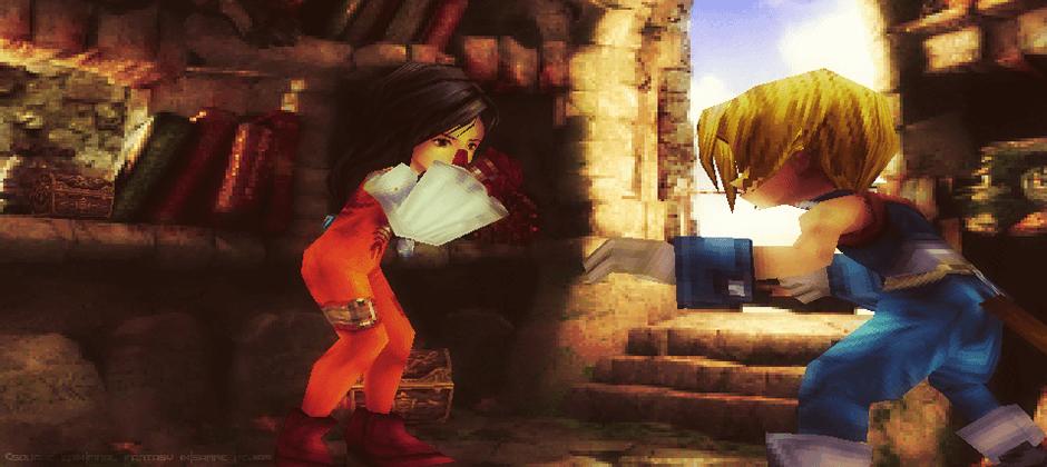 Zidane Garnet Final Fantasy IX