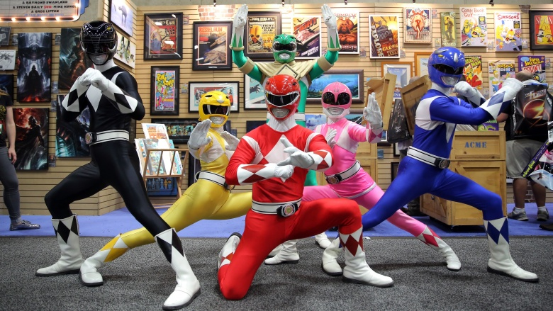 power rangers clássicos 4