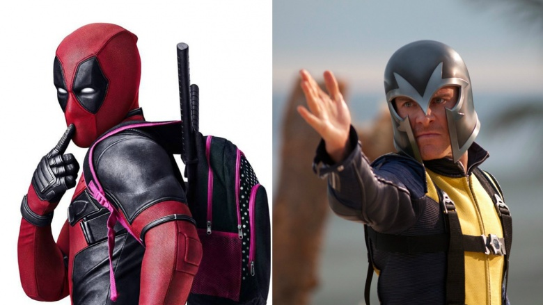 deadpool e magneto