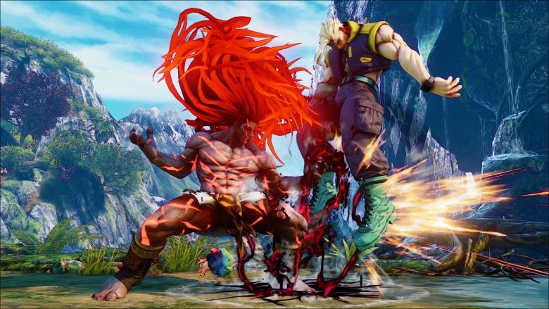 Street Fighter V necalli nash