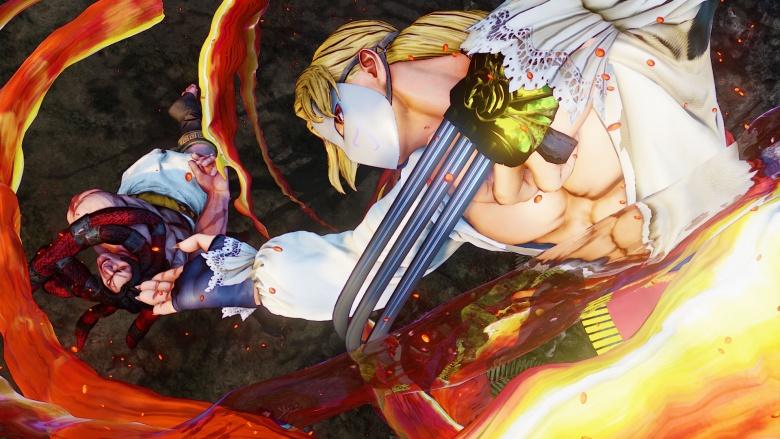 Street Fighter V vega necalli