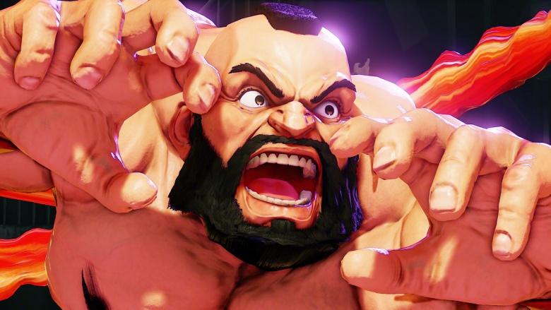 Street Fighter V zamgief
