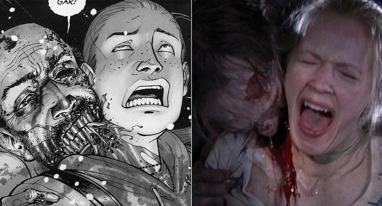 The Walking Dead – Diferenças incríveis entre a série e os quadrinhos