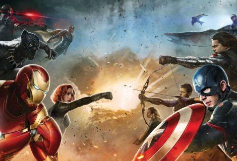 Saiu! Liberado Novo Teaser De Capitão América 3: Guerra Civil.