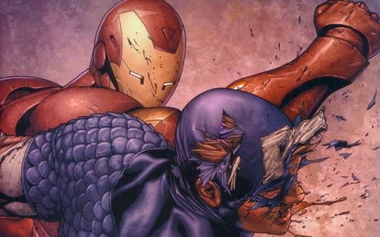 Capitão vs Iron Man
