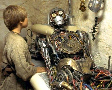 Anakin e c3po star wars