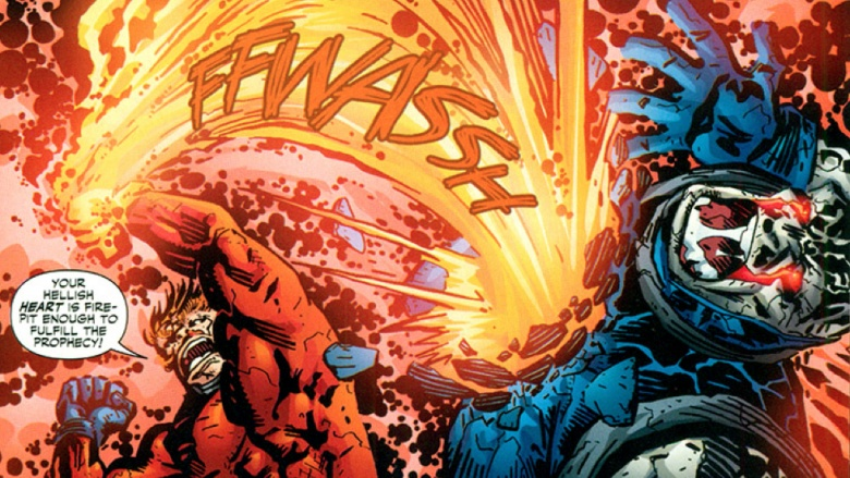 Darkseid e Orion DC