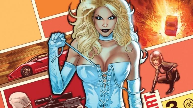 Emma Frost Rainha Branca X-Men Marvel