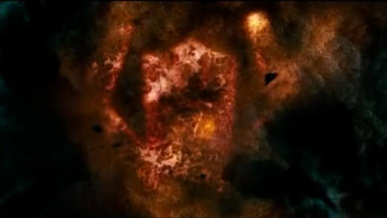 Galactus Nuvem Quarteto Fantástico e o Surfista Prateado