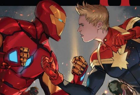 Universo Marvel se confronta em trailer de Guerra Civil 2