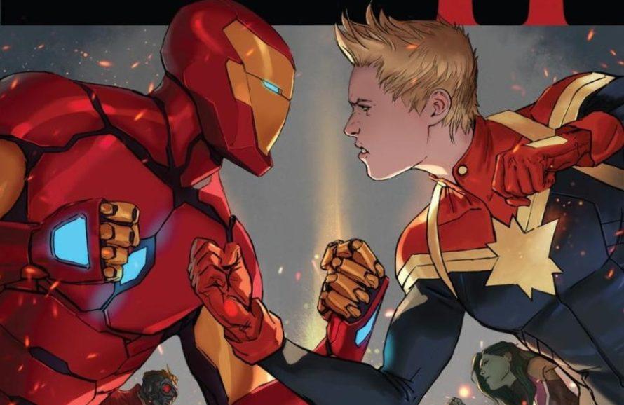 Universo Marvel se confronta em trailer de Guerra Civil 2