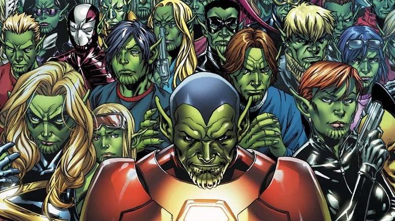 Invasão Secreta Skrulls Marvel