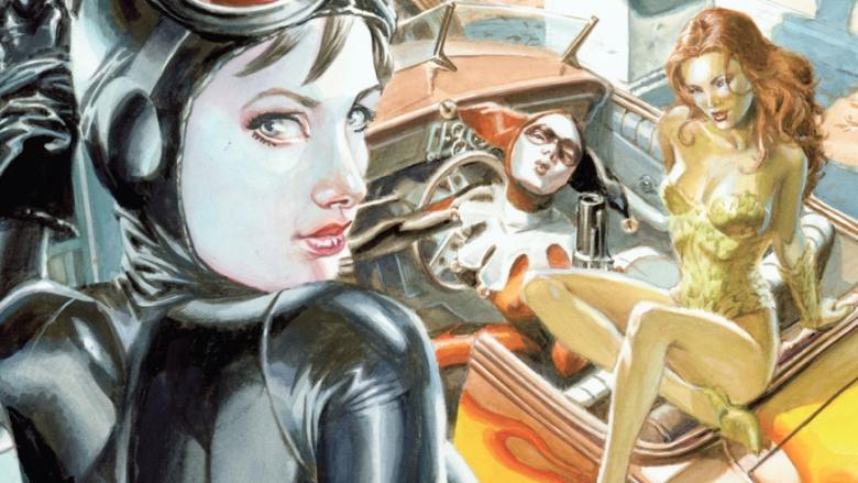 Sereias de Gotham City Mulher-Gato Hera Venenosa Harley Quinn
