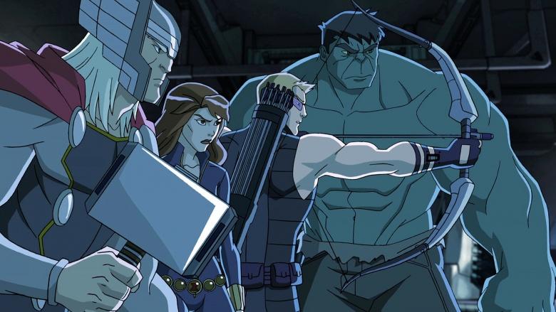 Vingadores Gavião Arqueiro THor Viúva Negra Hulk