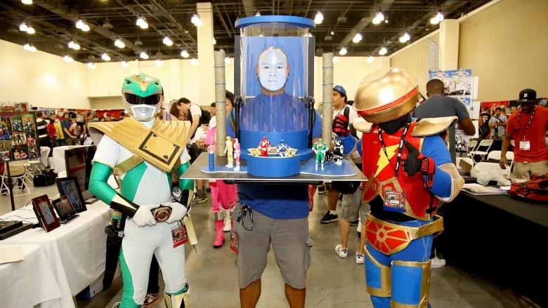 power rangers cosplay