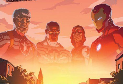 Capitães América preparam-se para nova saga da Marvel