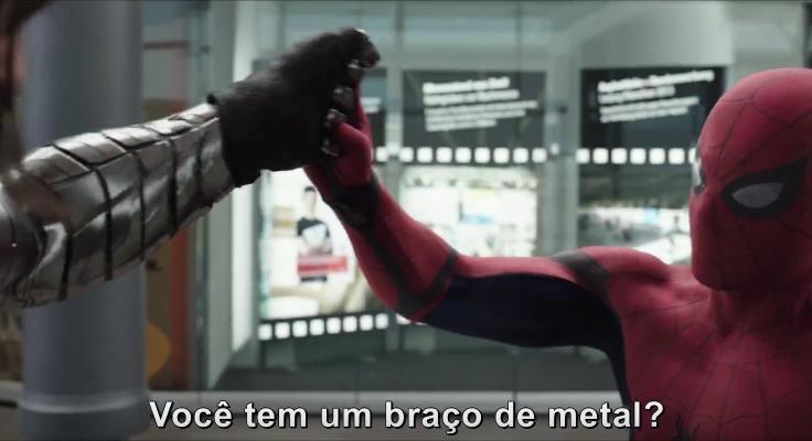 Homem-Aranha Faz Aparição Fantástica em Novo Trailer de Guerra Civil!