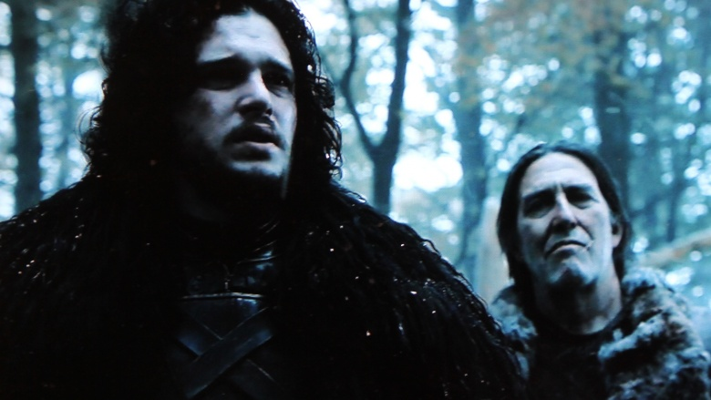 Jon Snow e Mance Rayder Game of Thrones