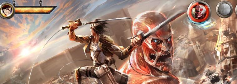 attack on titan jogo