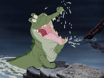 crocodilo peter pan disney