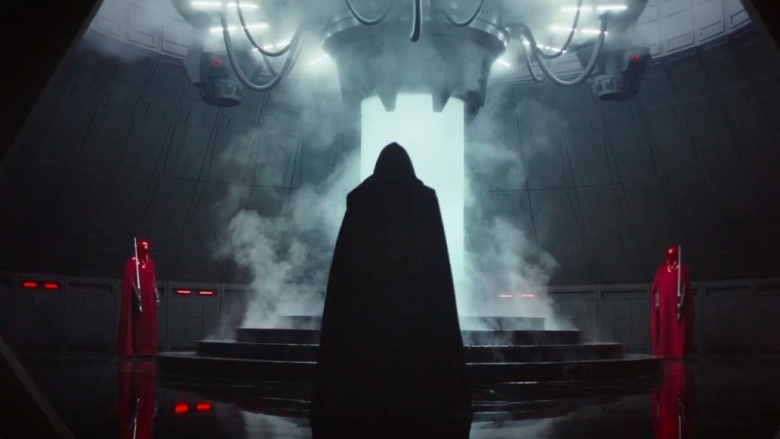 imperador palpatine rogue one star wars