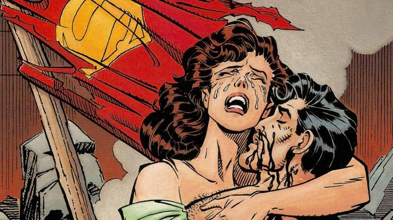 morte do superman quadrinhos dc