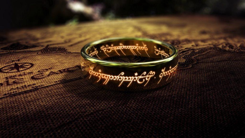 o um anel senhor dos anéis