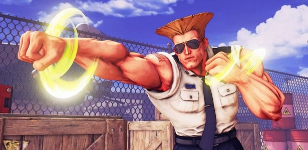 Guile Street Fighter V