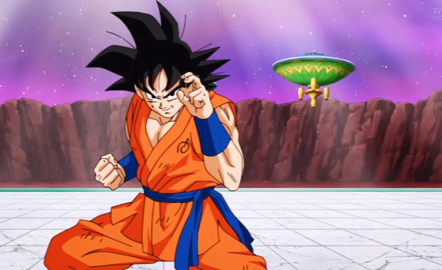 Goku pose