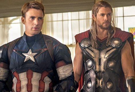 Capitão América e Thor quase deixaram a Marvel Studios