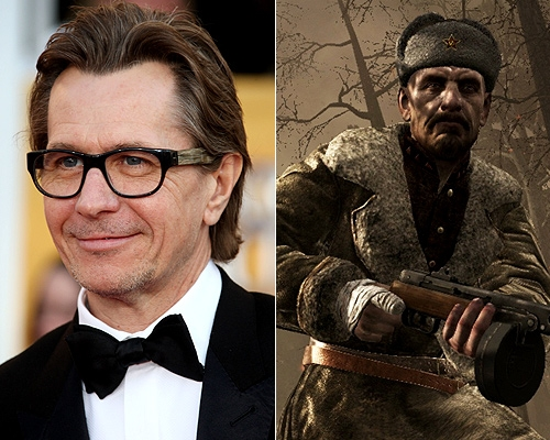 Gary Oldman Call of Duty WAW Black Ops