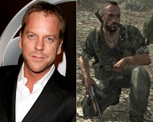 Kiefer Sutherland Call of Duty World at War