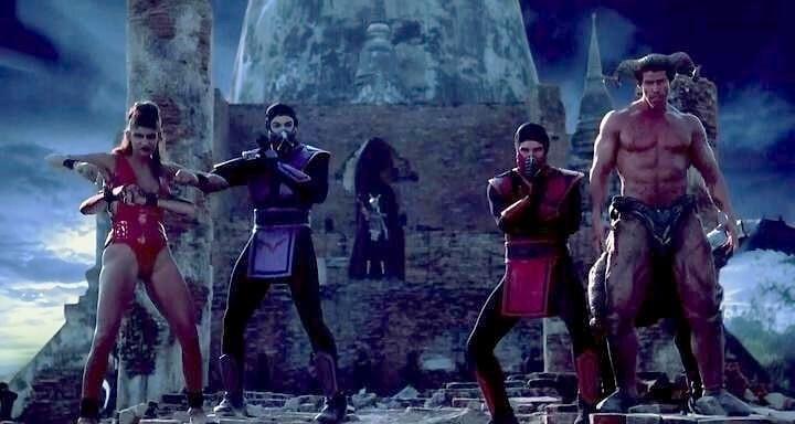 Mortal Kombat Aniquilação rain ermac motaro e sheeva