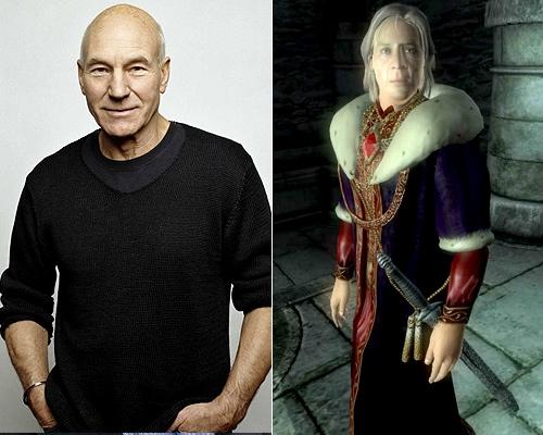 Patrick Stewart The Elder Scrolls IV Oblivion