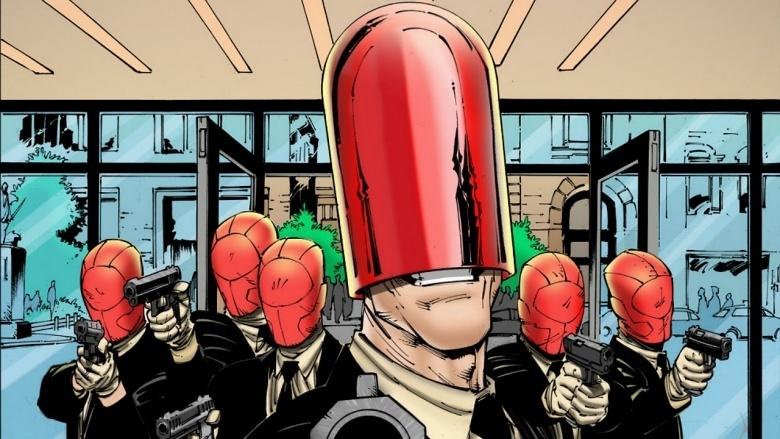 gangue capuz vermelho