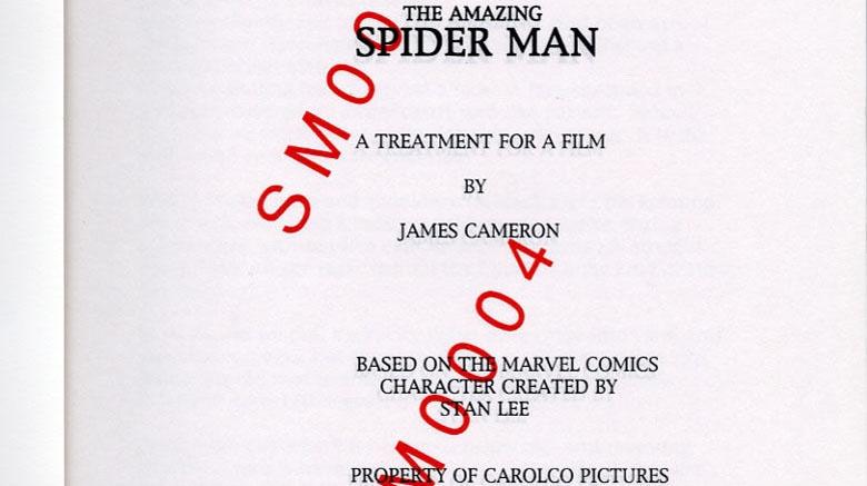 homem-aranha script
