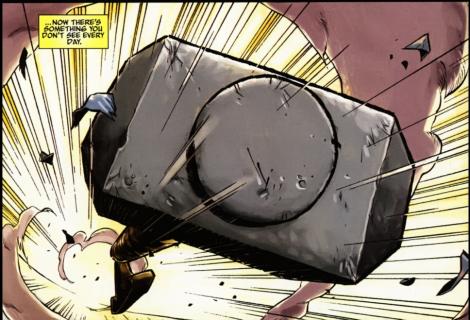 Mutante empunhará martelo do Thor nos quadrinhos