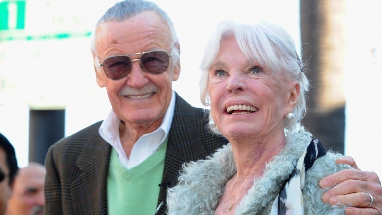 stan lee joan lee