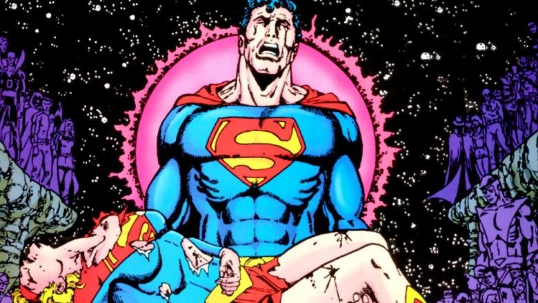 supergirl superman crise nas infinitas terras