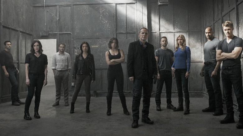 agentes da shield