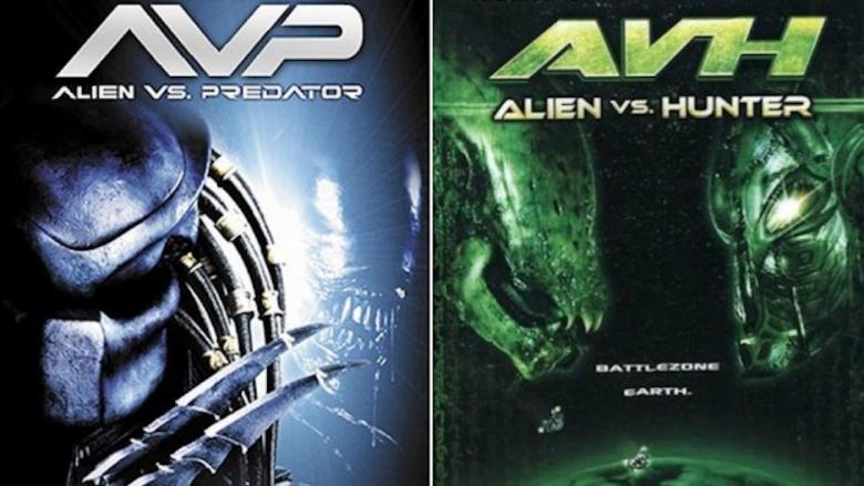 alien vs hunter